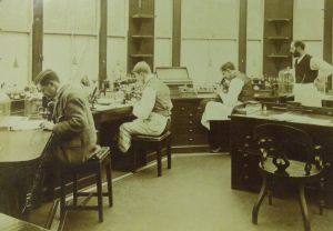 Pathological lab at West Riding Lunatic Asylum